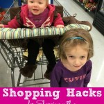 Shopping Hacks for Shopping with a Baby and a Child