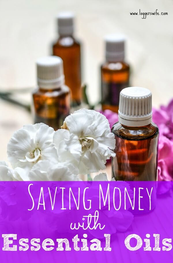 "You probably hear ""essential oils"" and think ""expensive"" But did you know that you can use essential oils to save money? Find out how!"