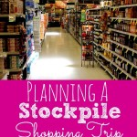 Planning a Stockpile Shopping Trip