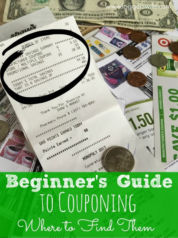 Want to start couponing to save on your groceries but don't know where to start? Check out my beginner's coupon guide! First step: learn where to find them.