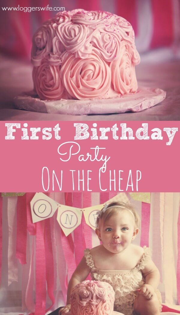 We feel a lot of pressure to have an over the top first birthday party. There's no need! Follow these tips to have a fantastic but budget friendly party.