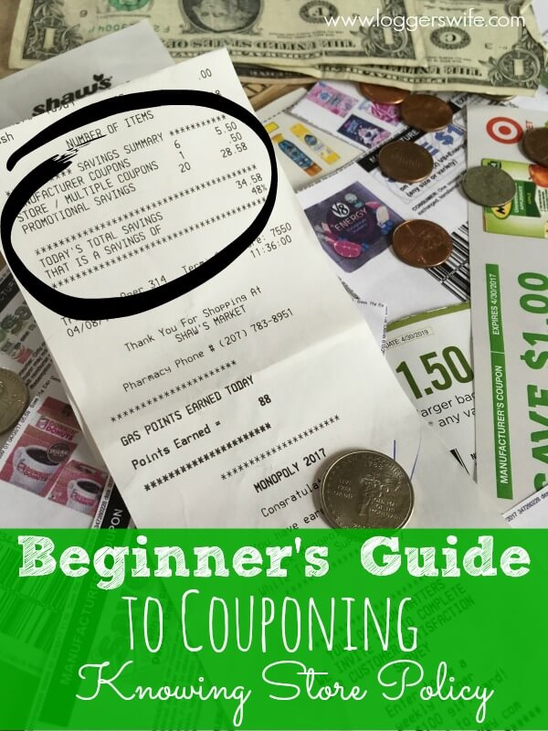 Knowing your store's coupon policy is just part of the Beginner's Coupon Guide, but it is an important part. Find out why!