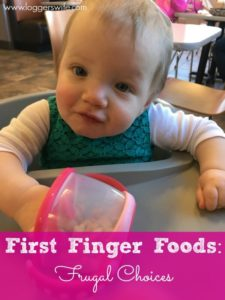 First Finger Foods for Baby – Frugal Choices