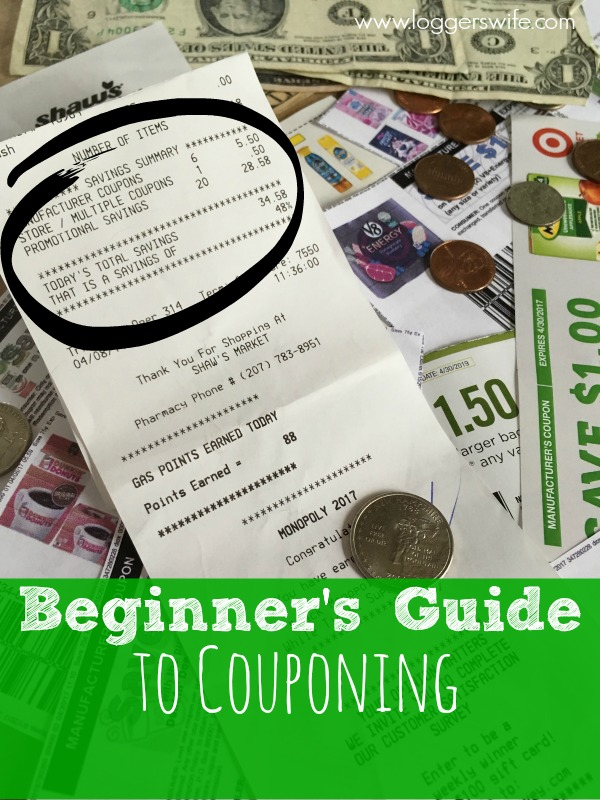 Looking the save money on your groceries and household items? Check out the Beginner's Coupon Guide! All you need to know to help you use coupons.