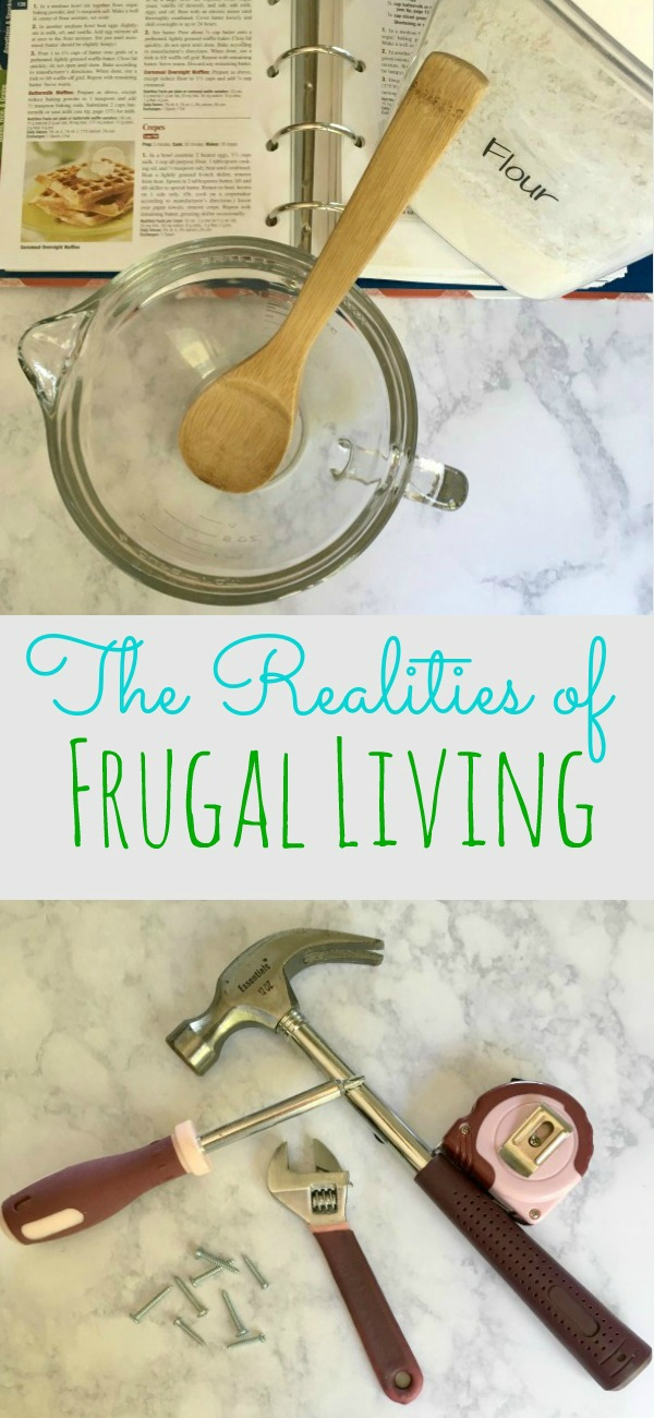 Living on a very tight budget happens to many of us. The realities of frugal living can be both rewarding and difficult. Find out how!