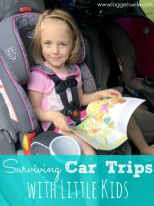 Surviving Car Trips with Little Kids