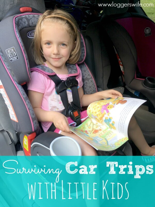 Car trips with little kids can often strike fear in a parent's heart. But it doesn't have to! Check out these tips for surviving car trips with little kids.