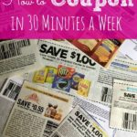 How to Coupon in 30 Minutes a Week