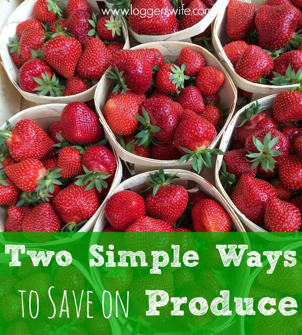 If you're struggling to feed your family well while on a budget, check out these simple ways to save on produce.