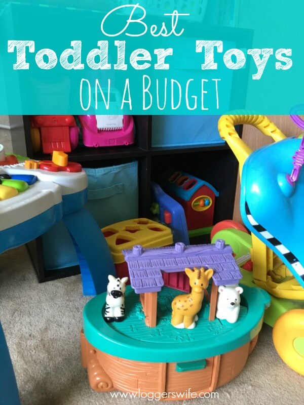 Great list of the best toddler toys on any budget. Great choices from fun to ones that help with development.