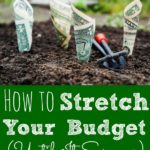 How to Stretch Your Budget Until It Screams
