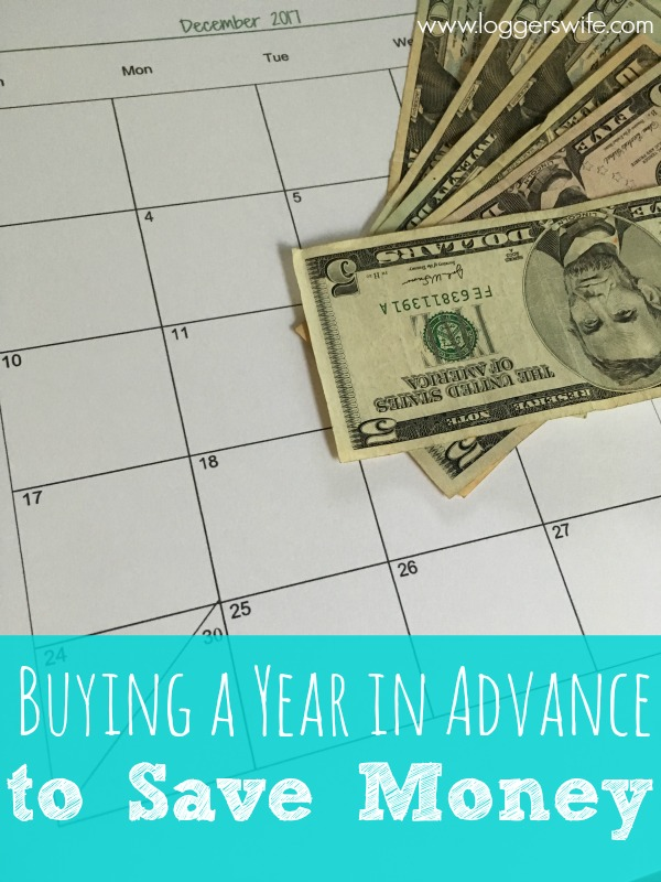 There are lots of different ways to save money. Buying a year in advance can be a big help. Find out how to do it and actually remember what you bought!