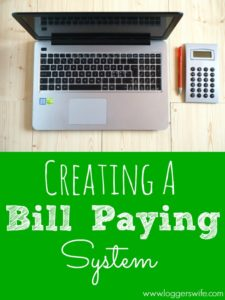 Creating a Bill Paying System