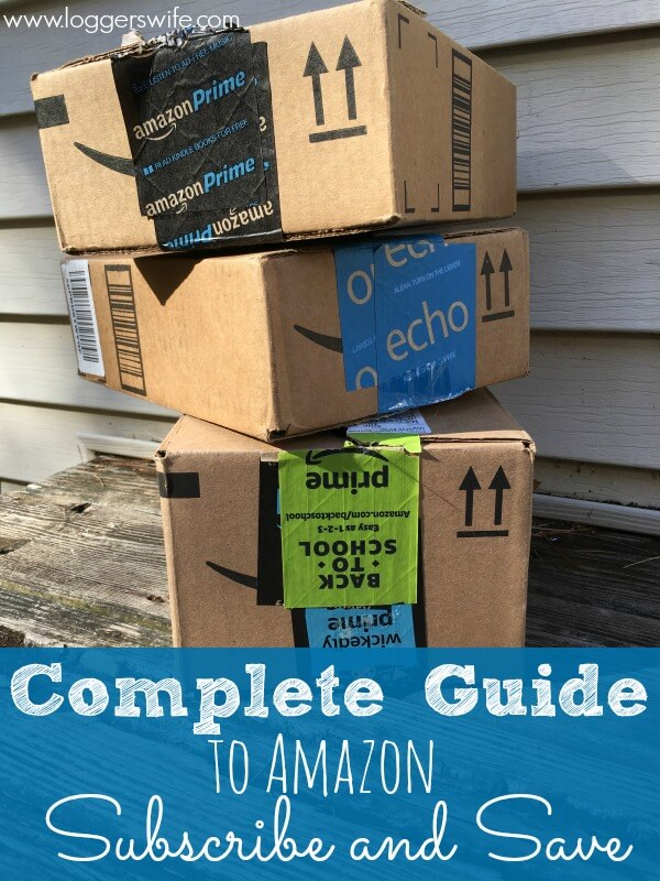 Love Amazon but confused about Subscribe and Save? Check out this complete guide to get you saving and take out the confusion.
