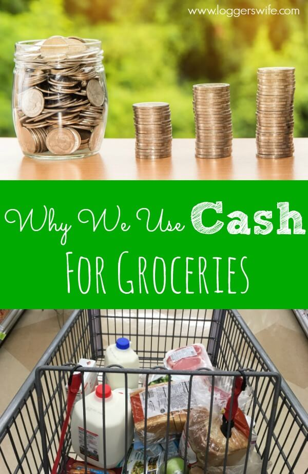 One of the best ways you can stay on budget is buy using cash for groceries. Find out why this is true and why I didn't used to do this.
