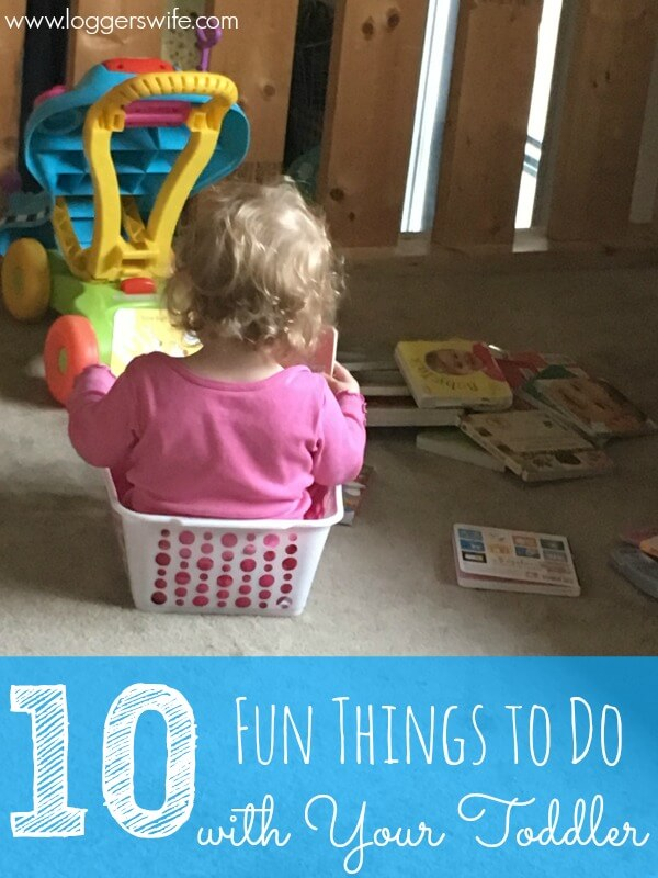 You want to enjoy your child's toddler years but it can be tough sometimes. Here are 10 fun things to do with your toddler when you can't think of anything.
