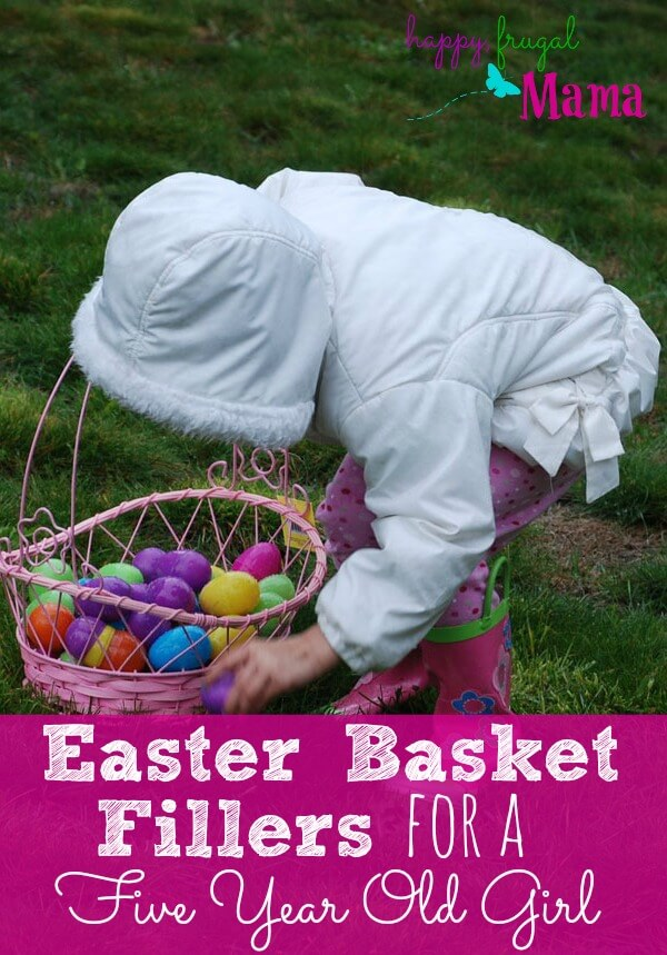 Trying to think of Easter basket fillers for 5 year old girls but drawing a blanket? Why are Easter baskets so hard, anyway? Check out this list to help you shop and help you find inspiration.