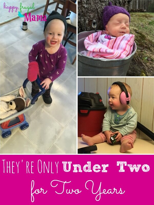"Do you want to go beyond just surviving the early years? Do you want to be present in your young child's life? Go read why the phrase ""they're only under two for two years"" can be a powerful lesson. Start thriving in your motherhood of a small child."