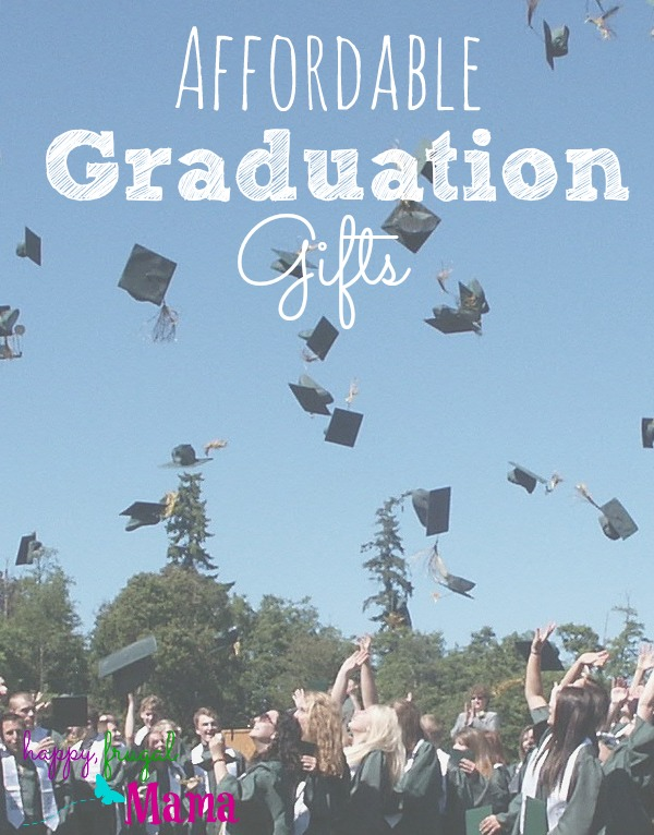 It can be so exciting to see a friend or family member graduating high school or college and starting the next chapter in their lives. What if you're on a tight budget but still want to give the graduate a nice gift? Check out this list of affordable graduation gifts!