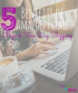 Amazon Prime Benefits- Beyond Two-Day Shipping